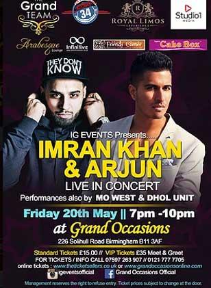 Imran Khan & Arjun live in concert